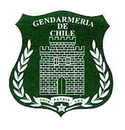 Gendarme en Chile