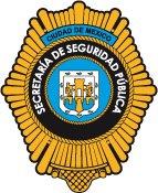 Policía en DF en Mexico